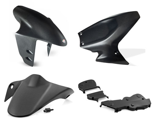 Carbon parts for: Ducati Monster, Panigale, Hypermotard, Hyperstarad.