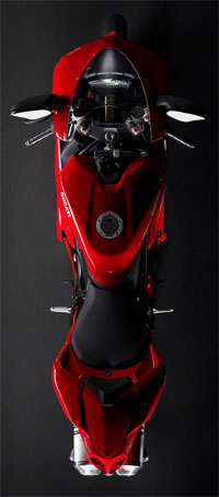Ducati 1198, beautiful from every angle.