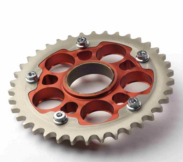 Ducati   Sprocket Changes